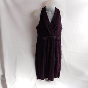 Jones Wear Dress Womens Size 10 Purple